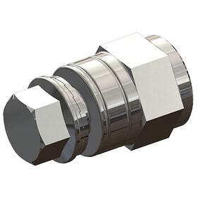 Croozer Adapter nakrętek osiowych FG 10,5, silver